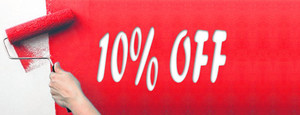 10% off Friends, Family or Referral